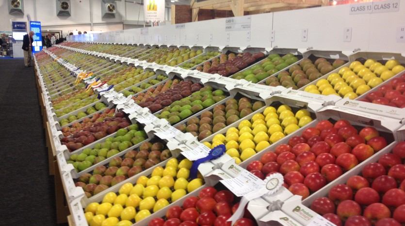 National Fruit Show display